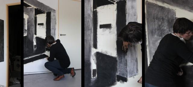 2011 | Opbouw in Atelier van Ruimte | Atelier | Odijk